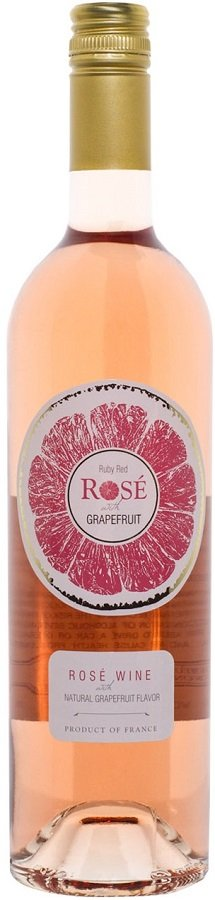 Ruby Red Rose with Grapefruit